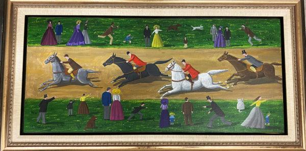 DeMejo - acron canvas - 40 x 18 inches