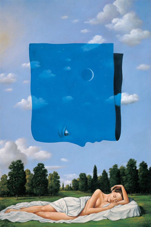 Rafal-Olbinski-Midsummer Nights Dream